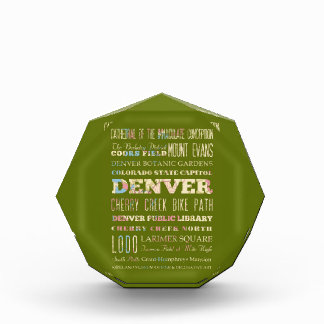 Attractions & Famous Places of Denver, Colorado. Award