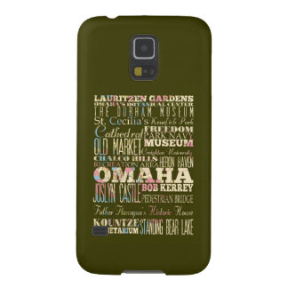 Attractions & Famous Places of Omaha, Nebaska. Galaxy S5 Cases