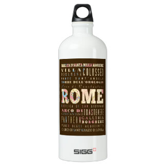 Attractions & Famous Places of Rome, Italy. SIGG Traveler 1.0L Water Bottle