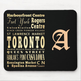 Attractions & Famous Places of Toronto, Canada Mouse Pad