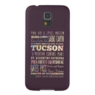 Attractions & Famous Places of Tucson, Arizona. Galaxy S5 Case