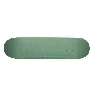 Attractive blue twinkling stars on rough green sur skateboard deck