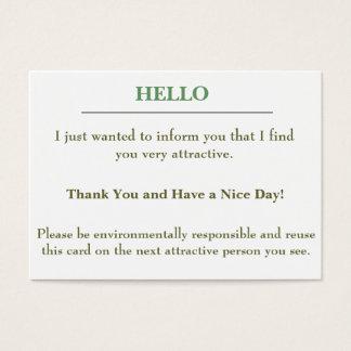 Attractive card