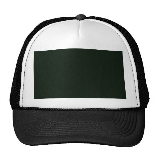 Attractive dull green flowers with leafy petals on trucker hats