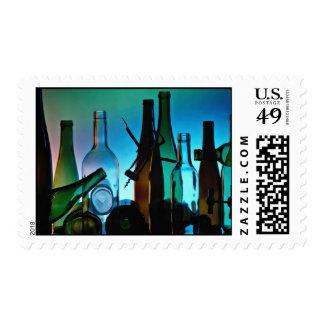Attractive Empty bottles Postage Stamps