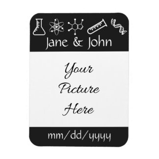 Attractive Forces in Black Save-the-Date Magnet Flexible Magnets