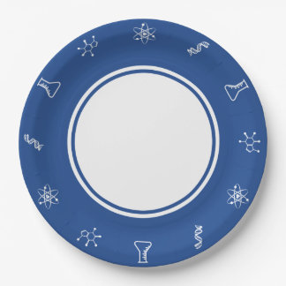 Attractive Forces in Blue Paper Plate