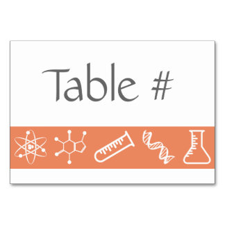 Attractive Forces in Coral Table Card