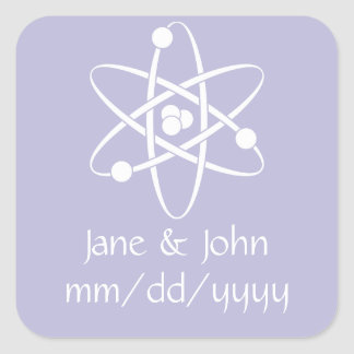 Attractive Forces in Lavender Sticker
