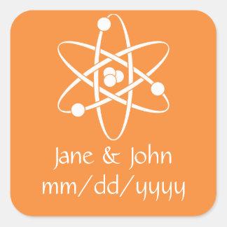 Attractive Forces in Orange Sticker