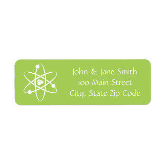 Attractive Forces in Peridot Return Address Label