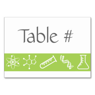Attractive Forces in Peridot Table Card