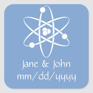 Attractive Forces in Periwinkle Sticker