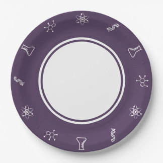Attractive Forces in Purple Paper Plate