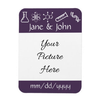 Attractive Forces in Purple Save-the-Date Magnet Flexible Magnets
