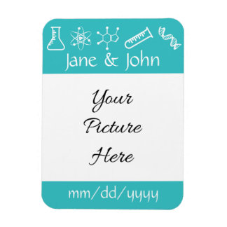 Attractive Forces in Turquoise Reminder Magnet Flexible Magnet
