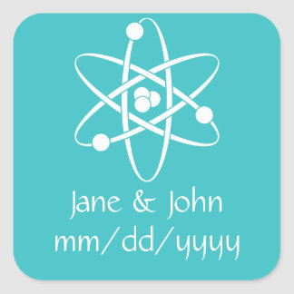 Attractive Forces in Turquoise Sticker