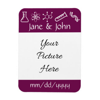 Attractive Forces in Wine Save-the-Date Magnet