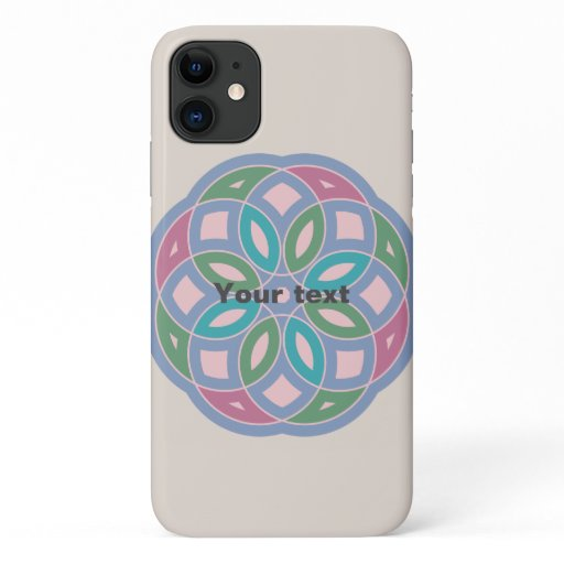 attractive geometric pattern - iPhone 11 case