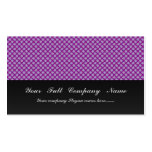 Attractive grey stars on rough purple surface business card template