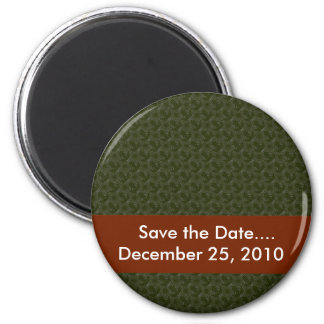 Attractive grey twinkling stars on rough green sur fridge magnets