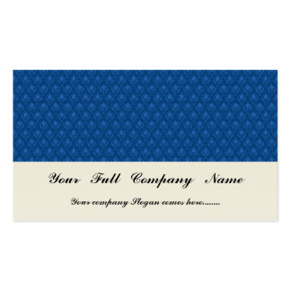 Attractive light blue flowers with two leafs on ro Double-Sided standard business cards (Pack of 100)