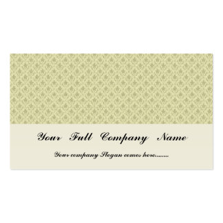 Attractive light grey flowers with two leafs on ro Double-Sided standard business cards (Pack of 100)