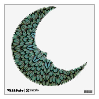 teal peacock wall decals amp wall stickers zazzle peacock wall decals peacock wall stickers amp wall peels