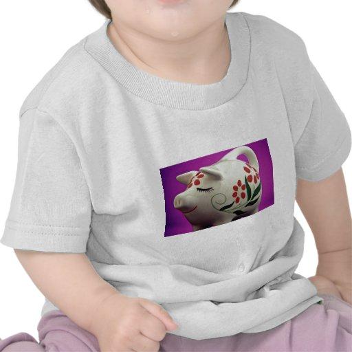 Attractive Piggy bank Tee Shirts