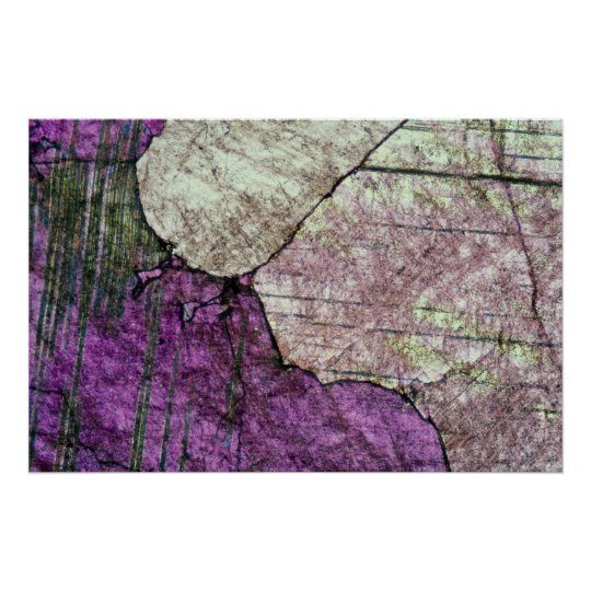 Attractive Pink marble texture Poster