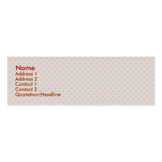 Attractive pink twinkling stars on rough light pin business card template