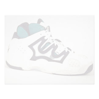 Attractive shoe for athletes personalized letterhead