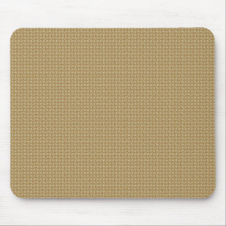 Attractive white flowers on brown background mouse pad