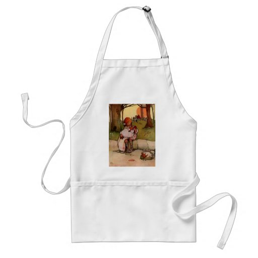 Attwell_ThePigBaby Adult Apron