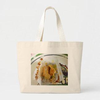 Atún cocido pergamino bolsa lienzo