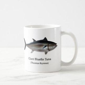 Atún de Bluefin gigante Taza Clásica