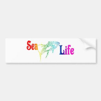 Atún de la vida marina pegatina para auto