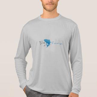 Atún grande - camiseta del competidor L/S del