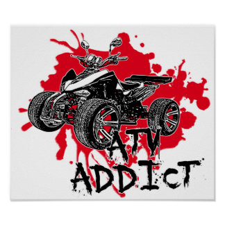 ATV addict Poster