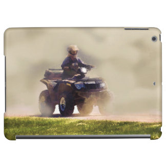 ATV All Terrain Vehicle & Driver in the Dust Cover For iPad Air