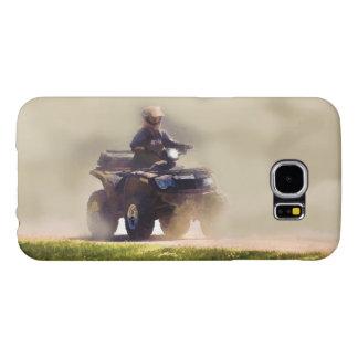ATV All Terrain Vehicle & Driver in the Dust Samsung Galaxy S6 Case