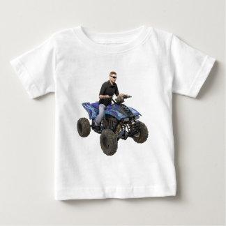 ATV Blue Mud Rider Baby T-Shirt