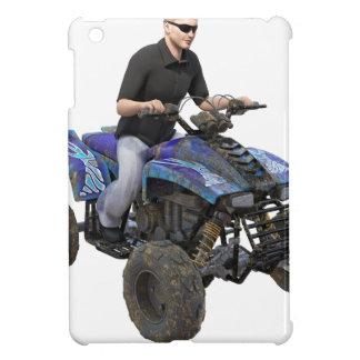 ATV Blue Mud Rider iPad Mini Cases