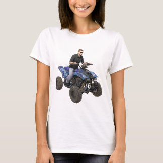 ATV Blue Mud Rider T-Shirt
