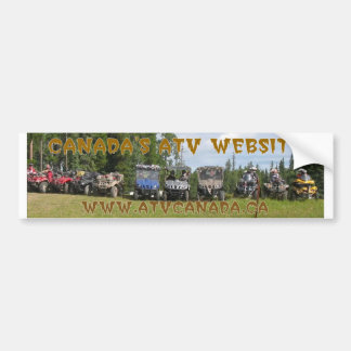 ATV Canada Gear Bumper Sticker