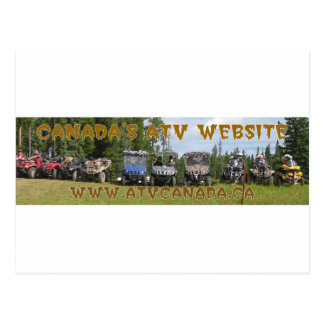 ATV Canada Gear Postcard