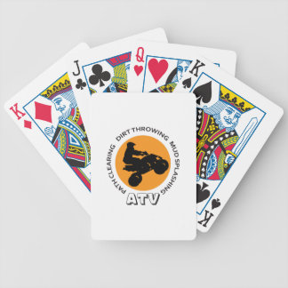 ATV DESCRIPTIONS BICYCLE PLAYING CARDS