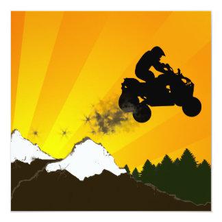 atv : dirt trail card