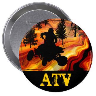 ATV en el camino del infierno Pin