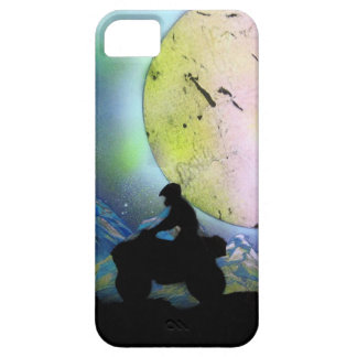 ATV Four Wheeler Space Landscape Spray Paint Art iPhone SE/5/5s Case
